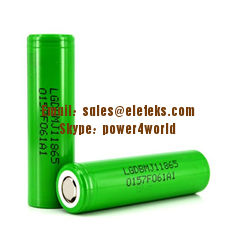 China Batteriezelle hoher Kapazität 18650 IMR 3500mAh maximale 10A 18650 LG Chems INR18650-MJ1 3.6V 18650 fournisseur
